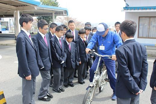 自転車免許講習