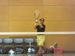 テニス室内③