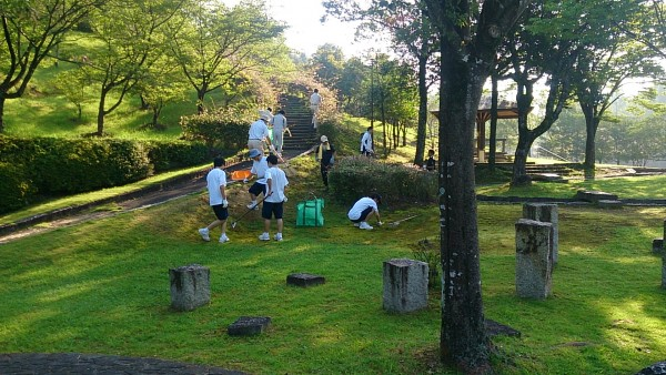 前平公園清掃